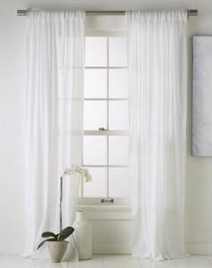 sheer curtains DIY tips